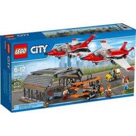 Klocki LEGO City 60103 Lotnisko - Pokazy lotnicze