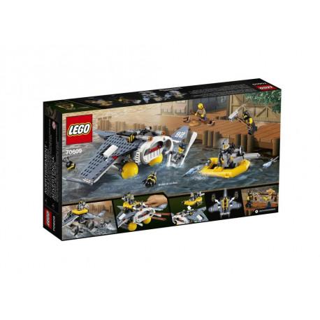 Klocki LEGO Ninjago 70609 Bombowiec Manta Ray