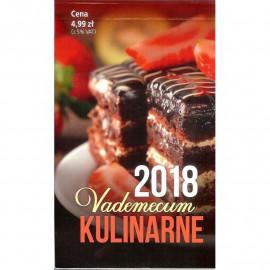 KALENDARZ ZDZIERAK 2018 VADEMECUM KULINARNE