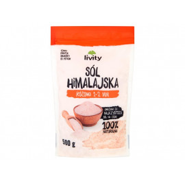 Livity Sól himalajska różowa 1-2 mm 500 g