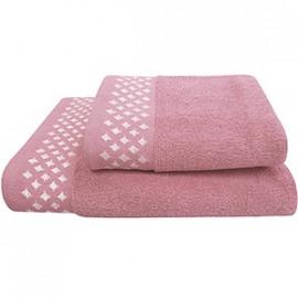 Texpol Ręcznik Diamond 50X90Cm Róż