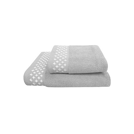 Texpol Ręcznik Diamond 50X90Cm Srebrny