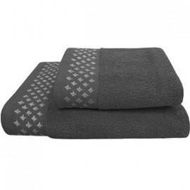 Texpol Ręcznik Diamond 50X90Cm Antracyt