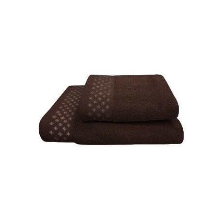 Texpol Ręcznik Diamond 50X90Cm Czekolada