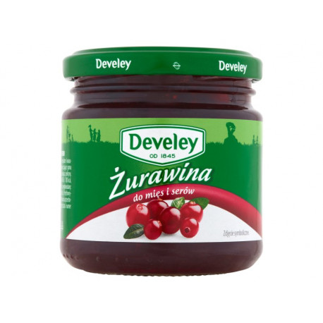 Develey Żurawina do mięs i serów 220 g