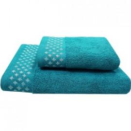 Texpol Ręcznik Diamond 70X140Cm Morski