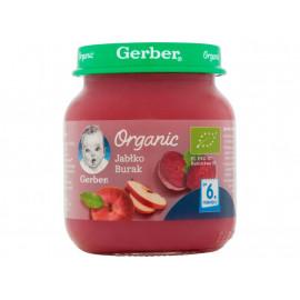 Gerber Organic Jabłko burak po 6 miesiącu 125 g