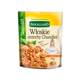 Bakalland Włoskie orzechy Chandler 75 g