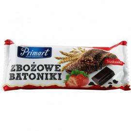 PRIMAT Baton zbożowy truskawkowy 35g