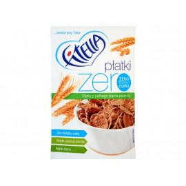 Fitella Zero Płatki z pełnego ziarna pszenicy 40 g