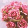 TETEaTETE Serwetki Róże  33x33 cm