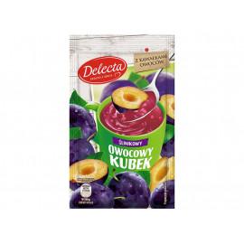 Delecta Owocowy kubek Kisiel o smaku śliwkowym 30 g