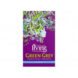 Irving Green Grey Herbata zielona z bergamotką 30 g (20 torebek)