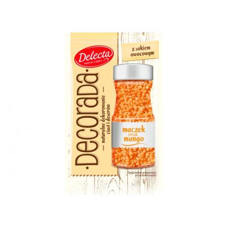 Delecta Decorada Maczek smak mango 40 g
