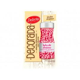 Delecta Decorada Kuleczki zbożowe w różowej skorupce 30 g