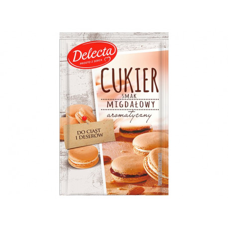Delecta Cukier smak migdałowy 15 g