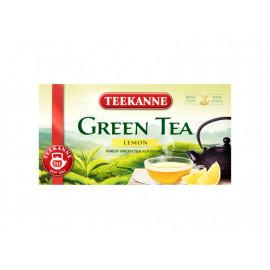 Teekanne Green Tea Lemon Aromatyzowana herbata zielona 35 g (20 torebek)