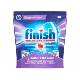 Finish Quantum Max Tabletki do zmywarki 620 g (40 sztuk)