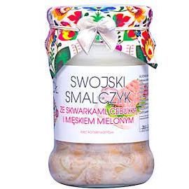 Swojski Smalczyk ze skwarkami, cebulką i mięskiem mielonym 260 g