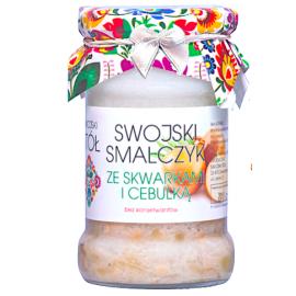 Swojski Smalczyk ze skwarkami i cebulką 260 g