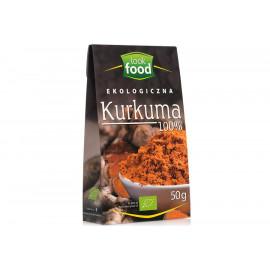 LOOK FOOD Ekologiczna Kurkuma 100% , 50g