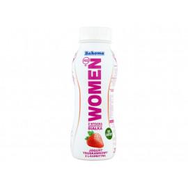 Bakoma Women Pro Jogurt z wysoką zawartością białka truskawkowy z L-karnityną 230 g