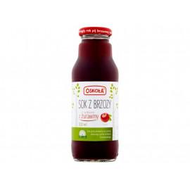 Oskoła Sok z brzozy z sokiem z żurawiny 300 ml
