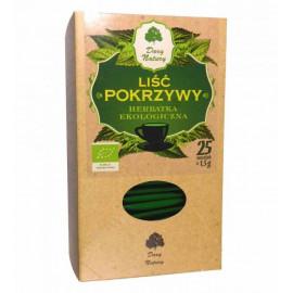 DARY NATURY Liść pokrzywy herbatka ekologiczna 25 saszetek