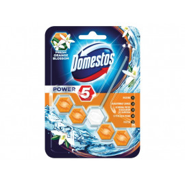 Domestos Power 5 Fresh Orange Blossom Kostka toaletowa 55 g