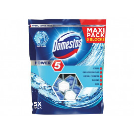 Domestos Power 5 Ocean Kostka toaletowa 5 x 55 g