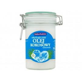 NaturAvena Ekologiczny olej kokosowy rafinowany 360 g