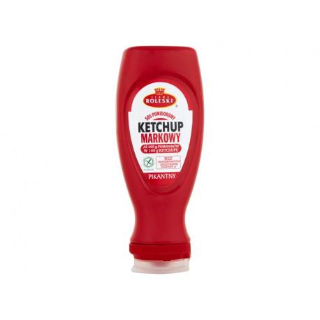 Firma Roleski Sos pomidorowy Ketchup markowy pikantny 450 g