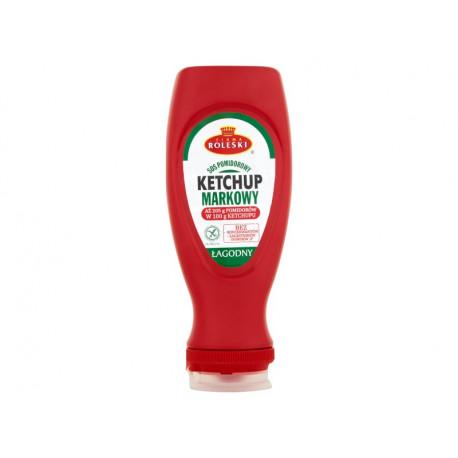 Firma Roleski Sos pomidorowy Ketchup markowy łagodny 450 g