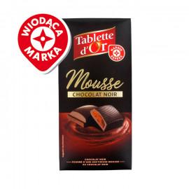 Czekolada gorzka 64% nadziewana musem z czekolady gorzkiej 36%.
