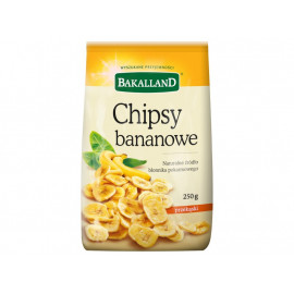 Bakalland Chipsy bananowe 250 g
