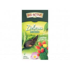 Big-Active Herbata zielona z kawałkami opuncji liściasta 100 g