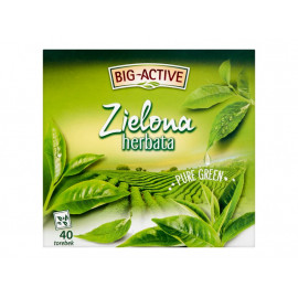 Big-Active Zielona herbata Pure Green 72 g (40 x 1,8 g)