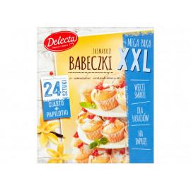 Delecta Babeczki o smaku waniliowym XXL 530 g