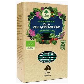Dary Natury Herbatka dla żołądkowców ekologiczna 25 saszetek