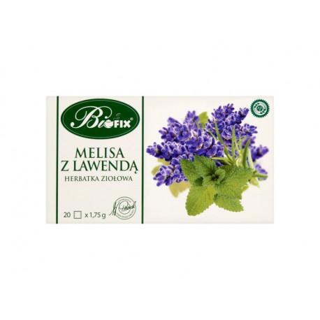 Bifix Melisa z lawendą Herbatka ziołowa 35 g (20 torebek)