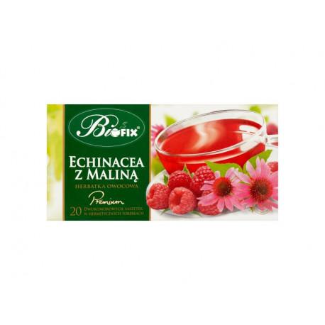 Bifix Premium Herbatka owocowa echinacea z maliną 40 g (20 x 2 g)