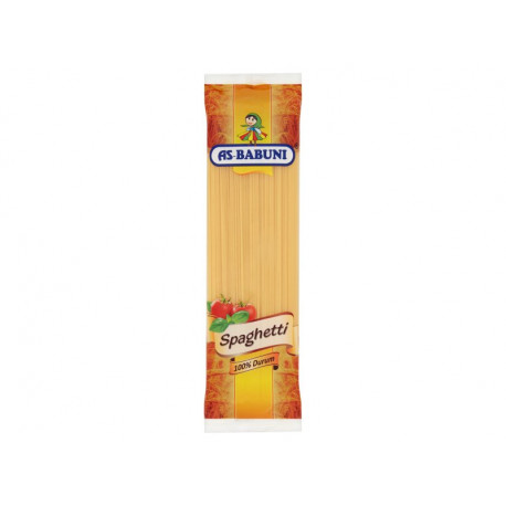 As-Babuni Makaron 100% durum spaghetti 400 g