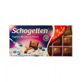 Schogetten yoghurt-blueberry-muesli 100g