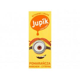 Jupik Lucky Fruit Pomarańcza marchew-cytryna Napój 200 ml