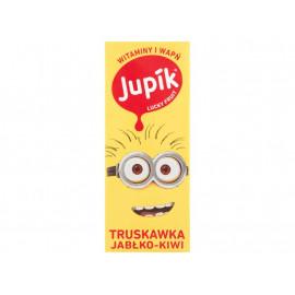 Jupik Lucky Fruit Truskawka jabłko-kiwi Napój 200 ml